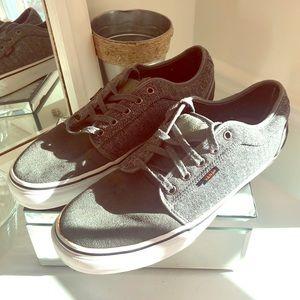 Vans gray size 11 men's original skater sneaker